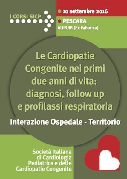 congresso ecm cardiopatie a Pescara 10 settembre 2016