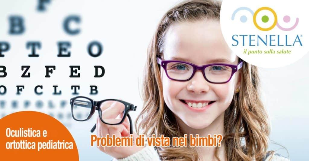 problemi di vista risolti la bimba sorride con gli occhiali