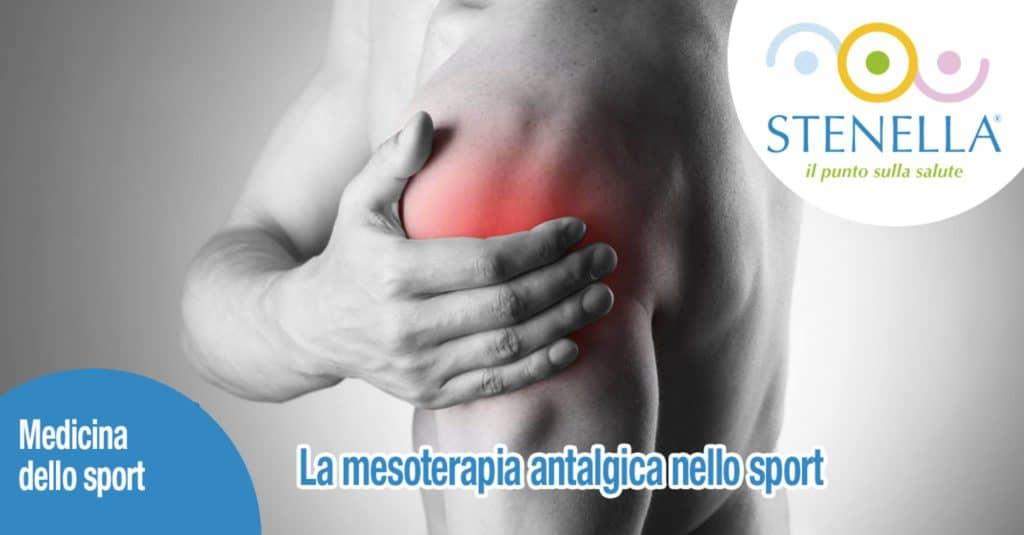 La mesoterapia antalgica nello sport