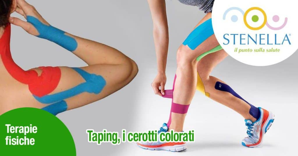 Taping, i cerotti colorati!