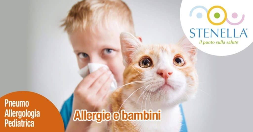 Allergie e bambini
