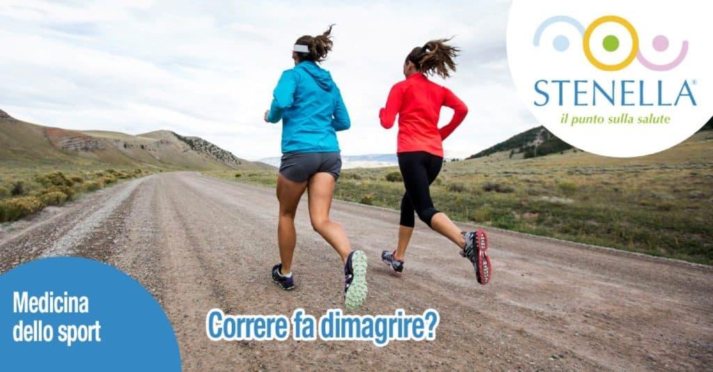 Correre fa dimagrire?