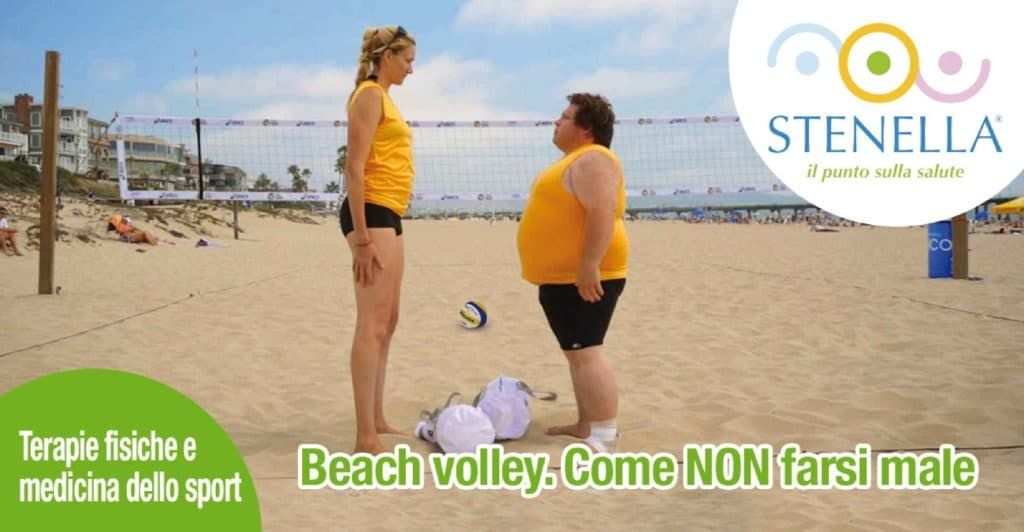 Beach volley. Come NON farsi male