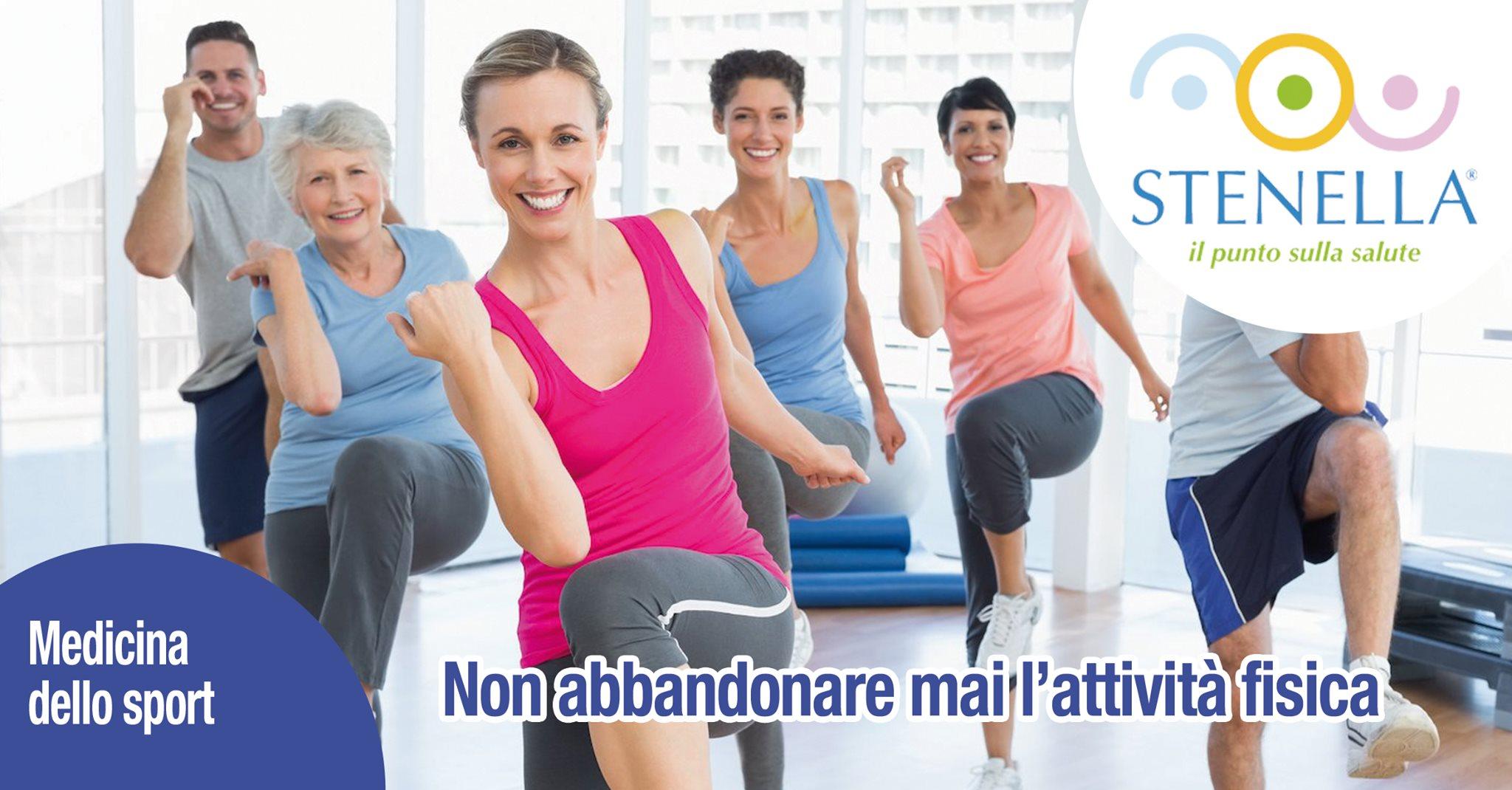 attività fisica fare sport per restare in salue