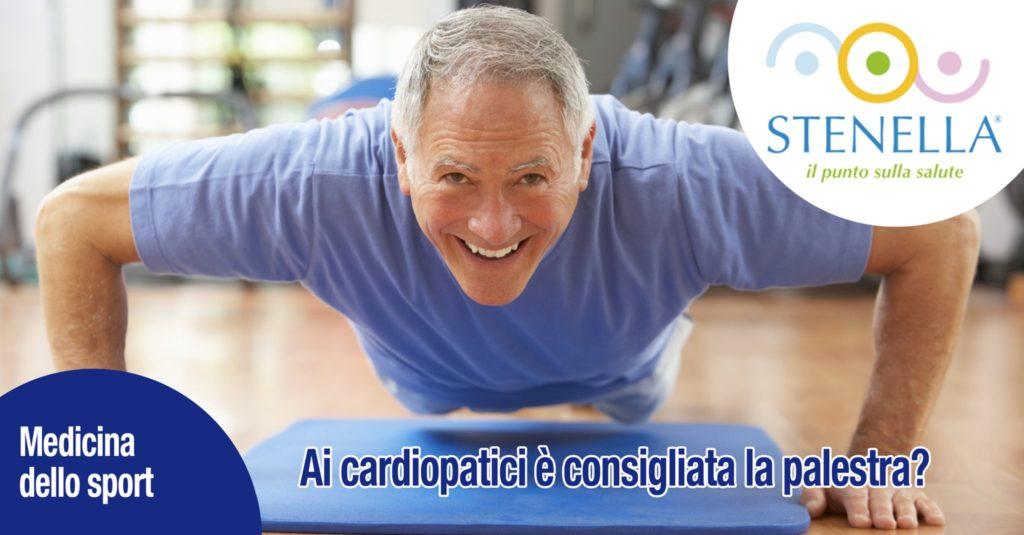 Ai cardiopatici è consigliata la palestra?