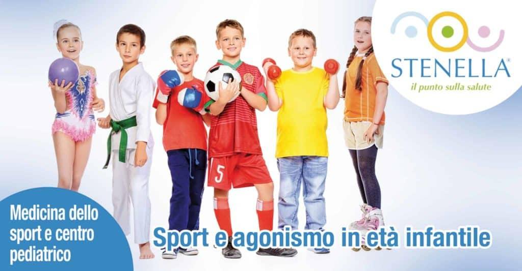 Sport e agonismo in età infantile.