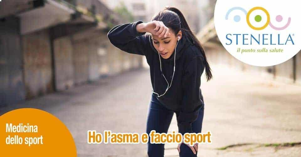 Ho l'asma e faccio sport
