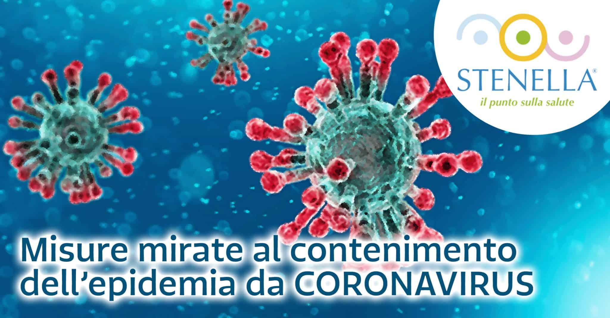 contenimento coronavirus