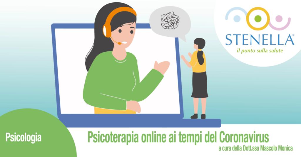 Psicoterapia online ai tempi del Coronavirus