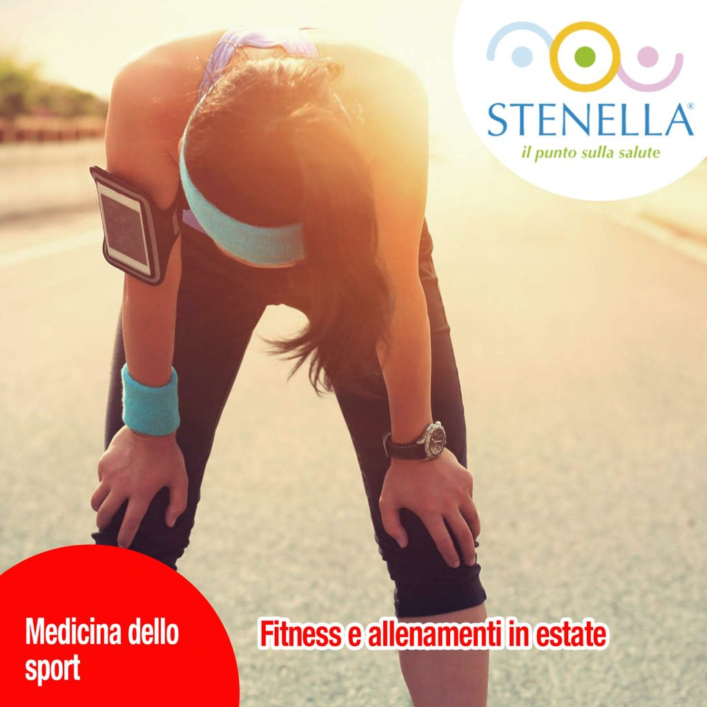 Fitness e allenamenti in estate
