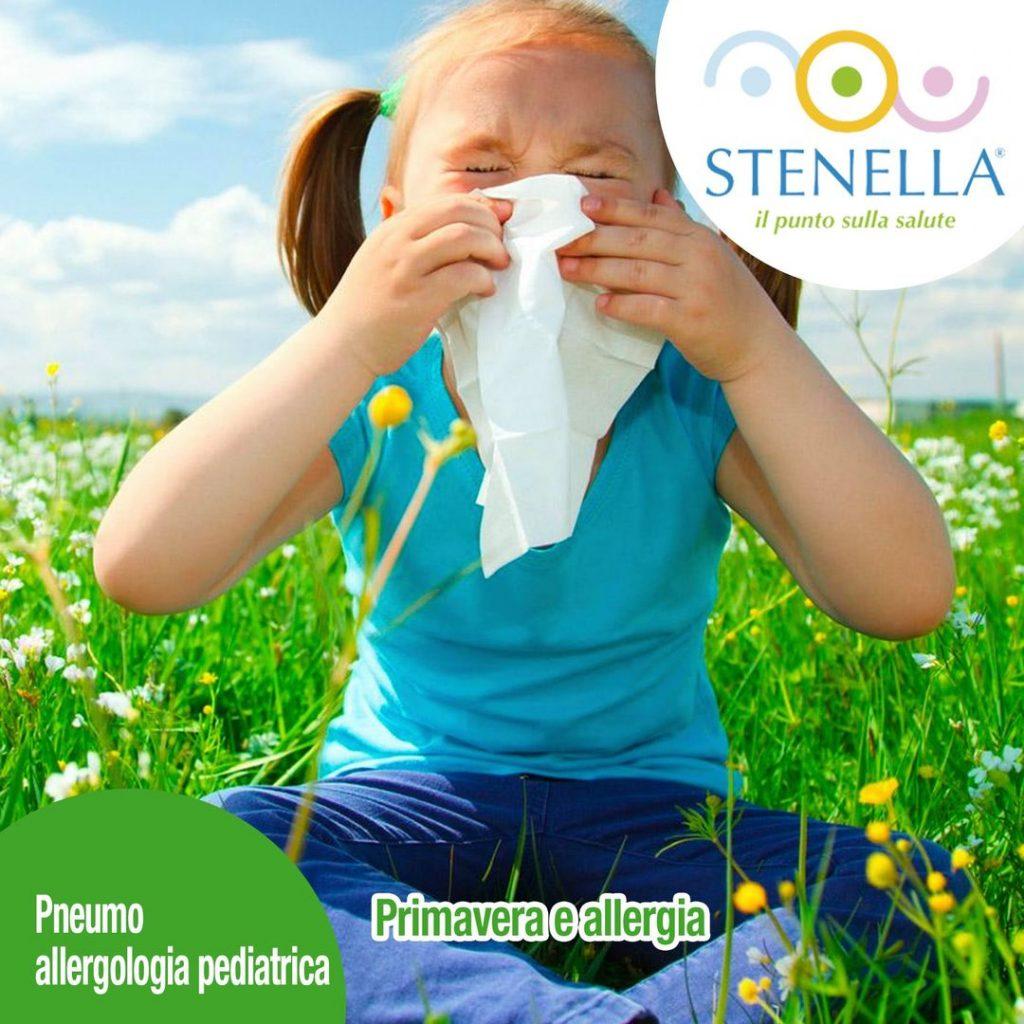 Primavera e allergia